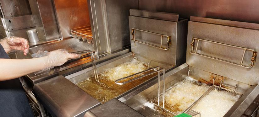 mobile catering deep fat fryer